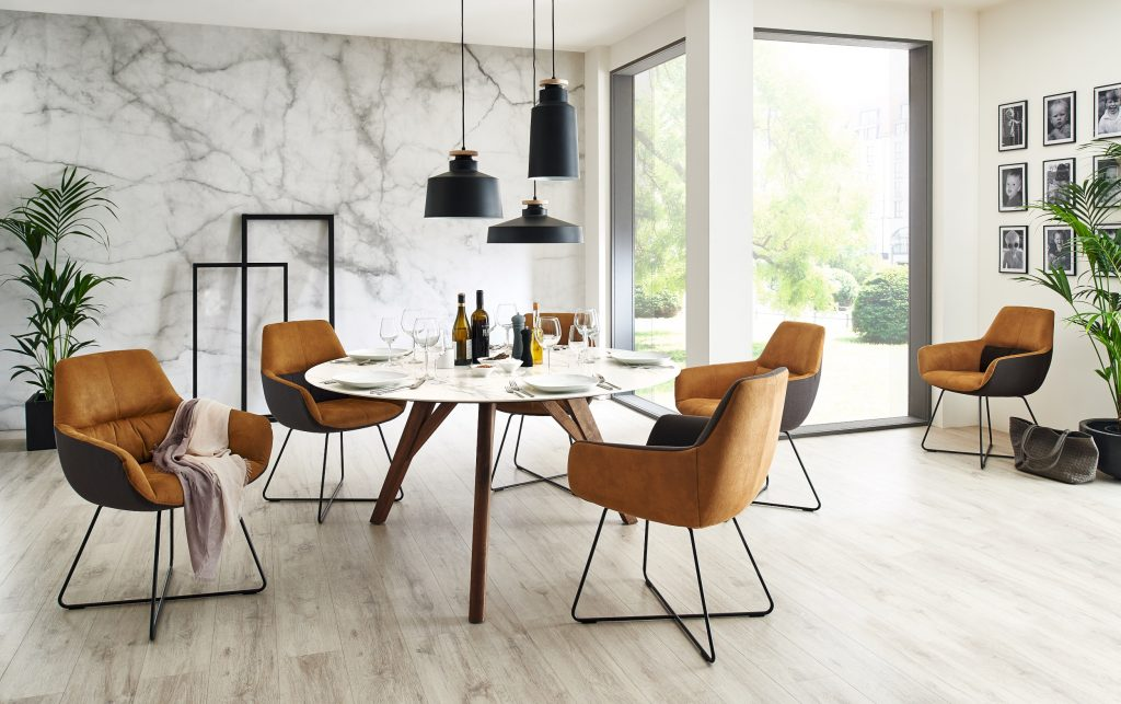 David Salmon Cologne dining table by Venjakob