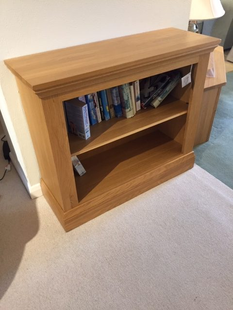 David Salmon Solid Oak Bookcase.