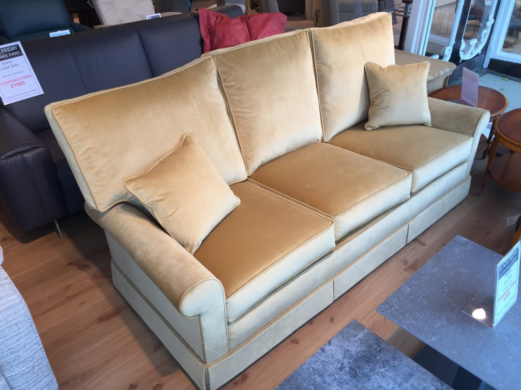 David Salmon Knightsbridge 3 Seater Sofa