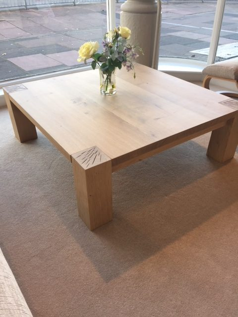 David Salmon Large Square Coffee Table by YASK.