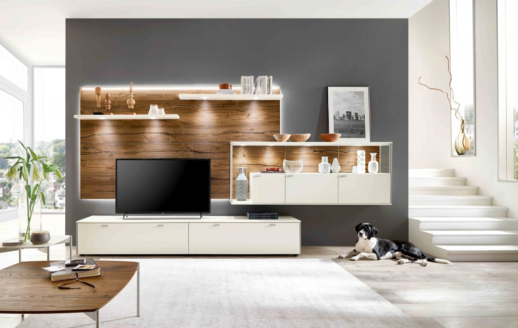 David Salmon Sentino TV units and cabinets