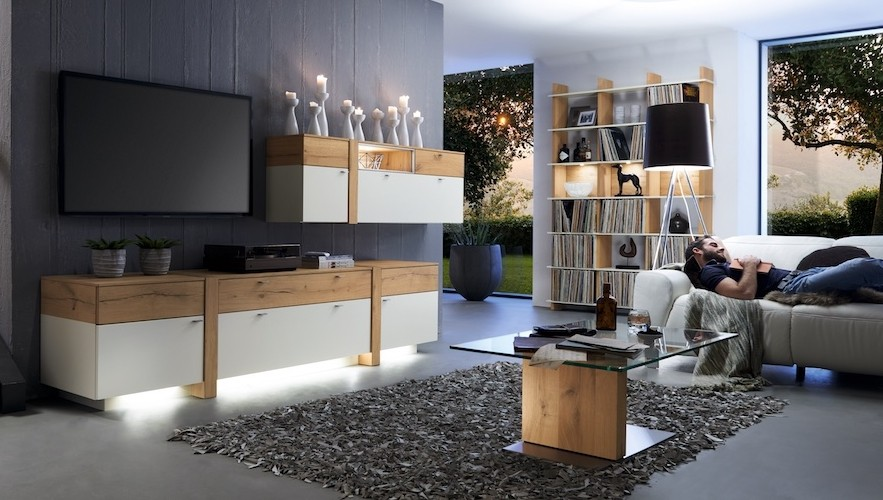 David Salmon Albero TV units and cabinets