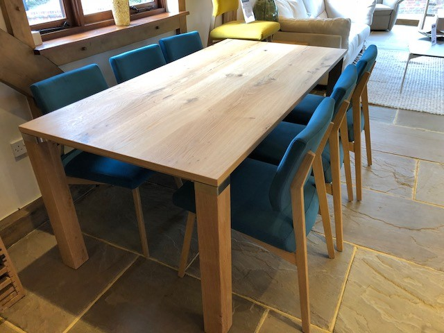 David Salmon Fino table and 6 chairs