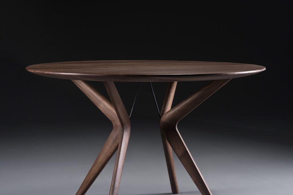 David Salmon Lakri Round and Oval dining table