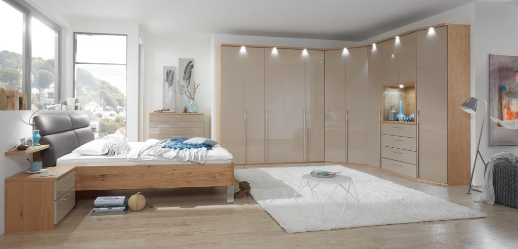 David Salmon Studioline bedroom system.