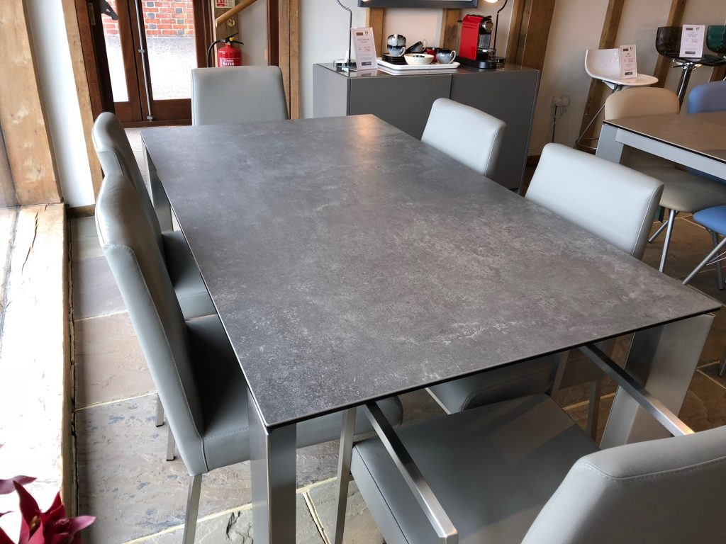 David Salmon Gate Table and Amsterdam chairs by Connubia