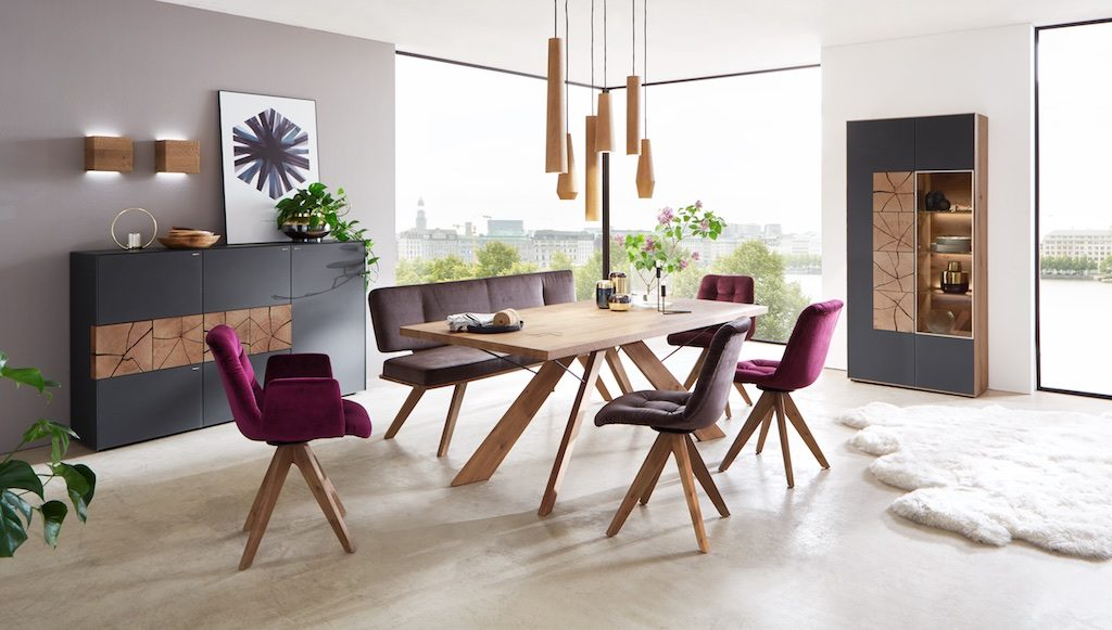 David Salmon Caya dining furniture