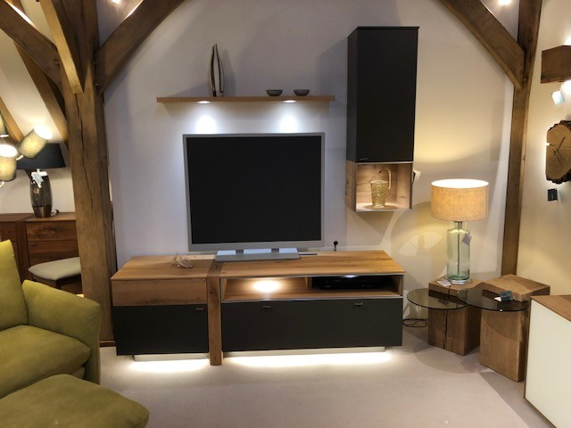David Salmon TV Wall Unit Display