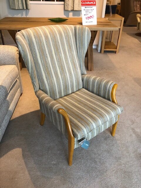 David Salmon Froxfield Wing Chair by Parker Knoll