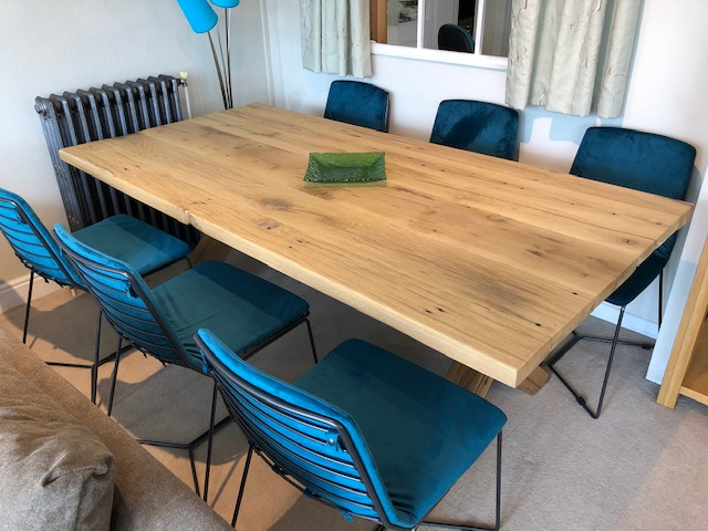 David Salmon Amsterdam dining table & 6 chairs