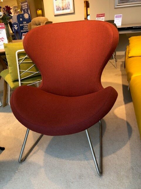 David Salmon Ruby Chair With Slide Base